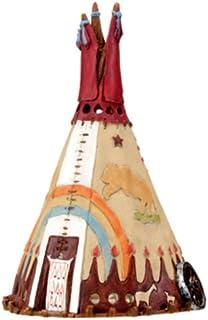 Summit StealStreet Indio Tipi–Quemador de Incienso, diseño de Nativo Americano Aroma Coleccionable