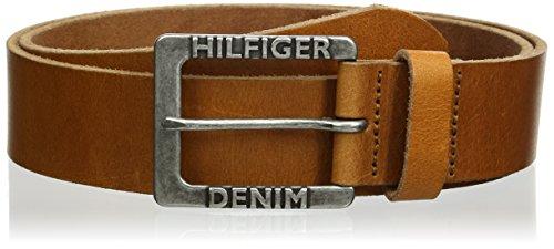 Tommy Hilfiger Original TDH Belt 4.0 Ceinture, Beige (Tan 950), 85 cm Homme