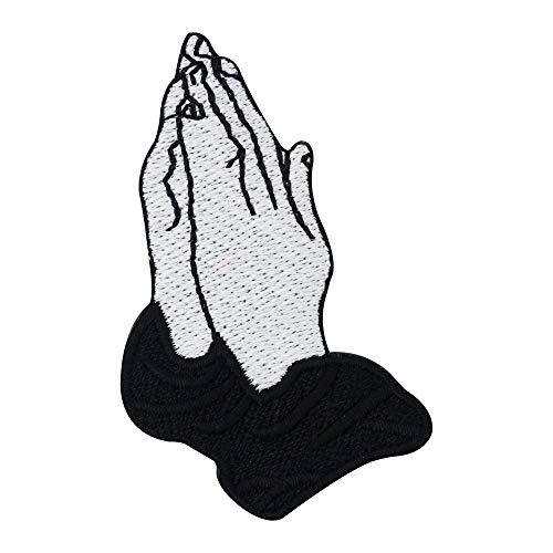 Finally Home Betende Drake Hände Bügelbild Patch zum Aufbügeln | Patches, Aufbügelmotive