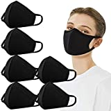 MORCHAN 6 PCS Reusable Face Masks Washable UK Dust Face Mask for Motorcycle Bicycle Running, Cycling, Outdoor Activities