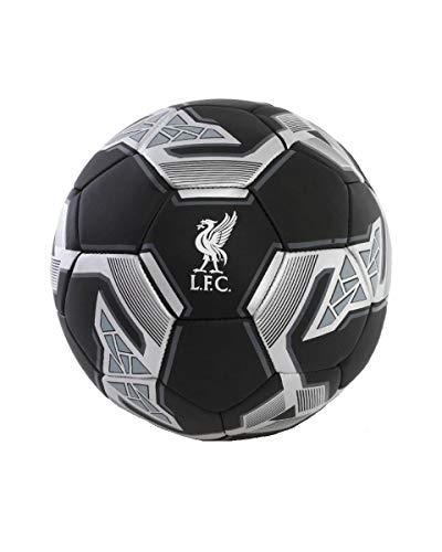 FC Liverpool Pallone da calcio (5, nero/argento)