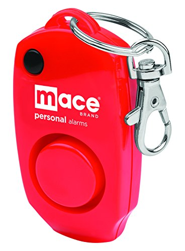 Mace Brand Personal Alarm Keychain, for Women, Red (80458)