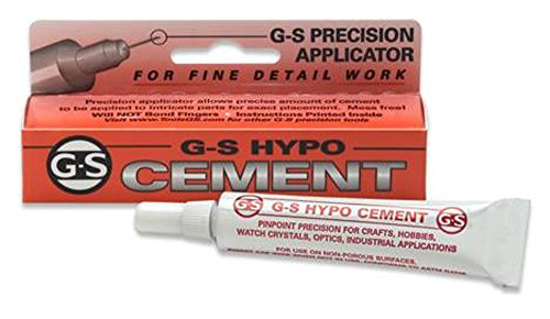 G&S Hypo Watch Crystal Cement