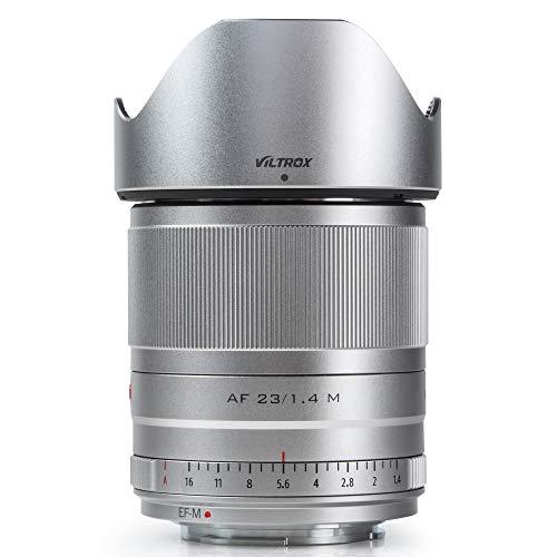 VILTROX 23mm F1.4 EF-M Mount STM Autofocus Lens, f/1.4 Large Aperture APS-C Lens Compatible with Canon EOS-M Mount M50 Mark II M200 M10 M100 M3 M5 M50 M6 M60 II