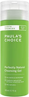 Paula's Choice Earth Sourced Gezichtsreiniger - Milde Gel Reiniger met Natuurlijke Ingrediënten - verwijdert Vuil & Make-u...
