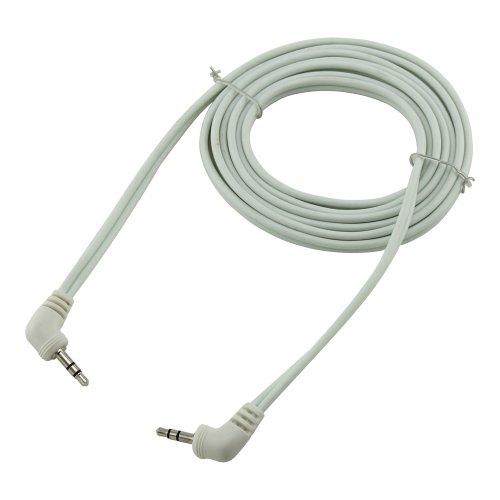 Bullz Audio B35E3WT 3-Feet Soft PVC 3.5 Extension Cable, White