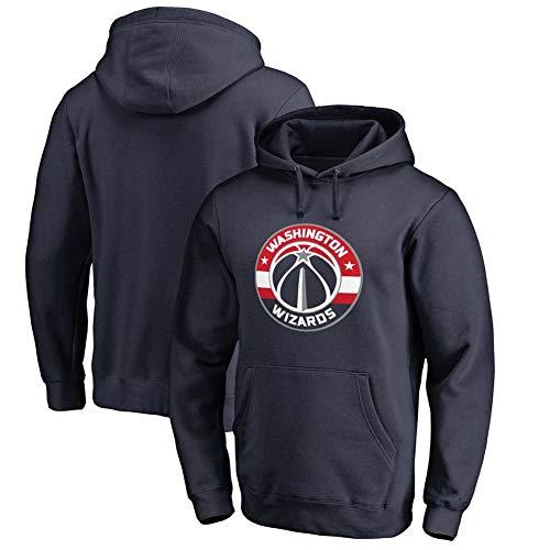 KSITH heren sweatshirt met capuchon Wizards heren basketbalfans speelgoed lange mouwen jas sportkleding pullover