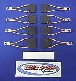 Heavy Duty Lincoln Welder Brush Set T2687 Sa-200 Sa-250 Classic I Ii Iii 300D