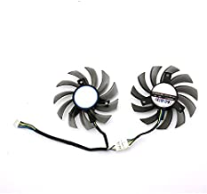 75mm for GTX 1050ti/GTX 1050/960/ 950/ RX460 Graphics Card Cooling Fan 4pin Fan Cooling