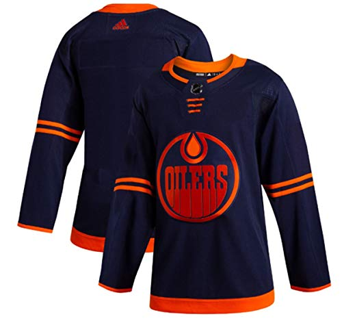 adidas Edmonton Oilers Men's Navy Alternate Authentic Jersey (52/L)