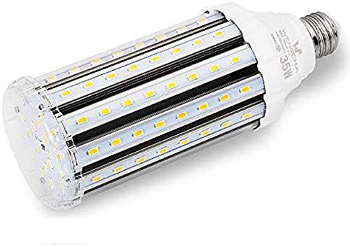 35W E27 LED Mais Lampe, Kaltweiß 6000K Energiesparlampe Hochleistung 3000Lumen LED Maiskolben Leuchtmittel Ersatz 250W Halogen, 360°Abstrahlwinkel, Super Hell für Fabriklager Garage, Nicht Dimmbar
