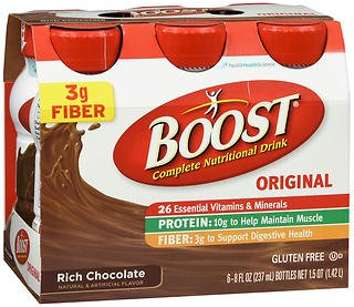 Product Boost Original Complete Nutritional Drinks - Chocolate Rich 24-8 Factory outlet