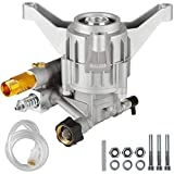 MUTURQ Vertical Pressure Washer Pump 7/8' Shaft 2600-2800 PSI 2.3GPM Brass Connector Power Washer Pump fit 308653052 308653006 308653025 PS262311 and Most Pressure Washer