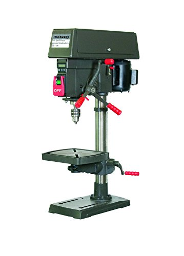 Palmgren 12' 16- Speed Bench step pulley drill press