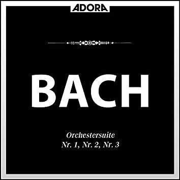 Orchestersuite No. 1, 2 und 3