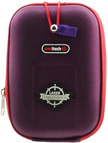 Navitech Estuche Rígido/Tapa Morada EVA Telémetros con Mosquetón Compatible con El Nikon Forestry Pro Laser rangefinder