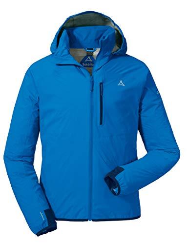 Schöffel Herren Jacket Toronto2 Wind-und wasserdichte Jacke mit verstaubarer Kapuze, atmungsaktive Regenjacke für Männer, blau (Directoire Blue), 54
