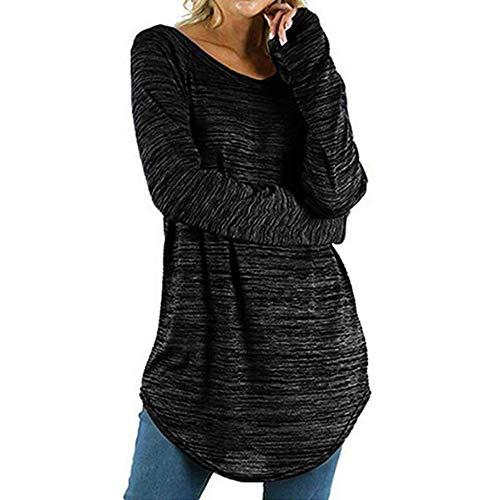 S.CHARMA topy damskie duże rozmiary nieregularne obszycie koszule bluzy wyprzedaż długiego/krótki rękaw luźne bluzki