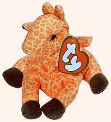 TY Teenie Beanie Babies Twigs the Giraffe Plush Toy Stuffed Animal by Unknown