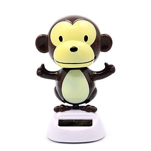Schaukel Solar Powered tanzen Spielzeug für Auto Haus Dekoration mit Hold Aufkleber Monkey