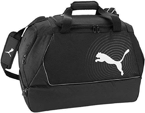 PUMA Tasche EvoPower Football Bag Sporttasche, Black-White, 59 x 41 x 32 cm