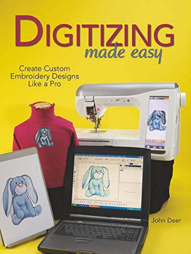 Digitizing Made Easy: Create Custom Embroidery Designs Like a Pro