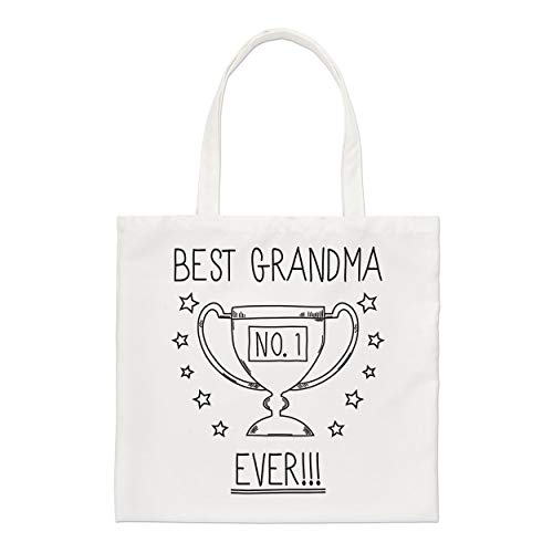 Best Grandma Ever No.1 Trophy Regular Tote Bag