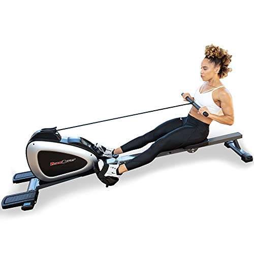 FITNESS REALITY 1000 PLUS Bluetooth Magnetic Rowing Rower...