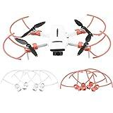 LOVONLIVE 4 unids/set protector de hélice de liberación rápida para FIMI X8 MINI Drone, anti-colisión hélice parachoques hoja protector jaula