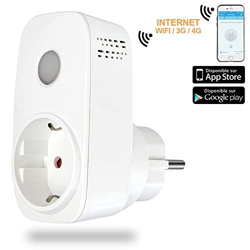 Intelligente Steckdose WiFi/3G/4G mit Nachtlicht–pilotez Ihre Elektrogeräte von überall–broadlink