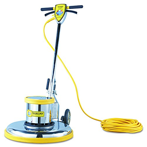 Mercury Floor Machines PRO21 PRO-175-21 Floor Machine, 1.5 HP, 175 RPM, 20' Brush Diameter