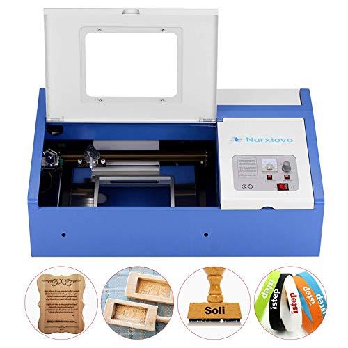 Laser Cutter-SUNCOO K40 Laser Engraver DIY Engraving Machine for Wood,...