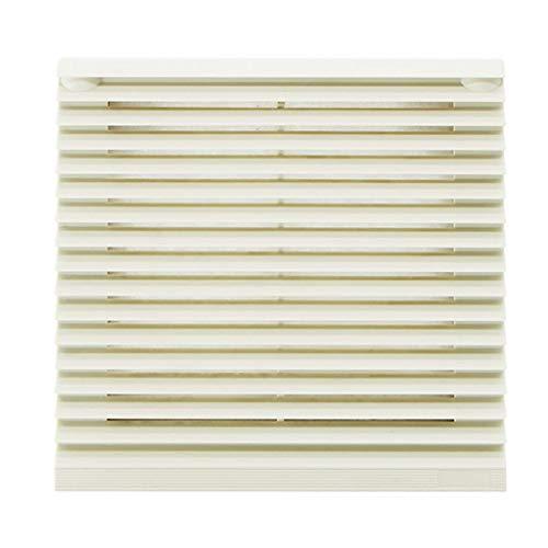 JEONSWOD Gabinete Conjunto de filtros de ventilación Cubierta de persianas Rejilla del Ventilador Sistema de ventilación de Aire Filtro de Ventilador con Ventilador