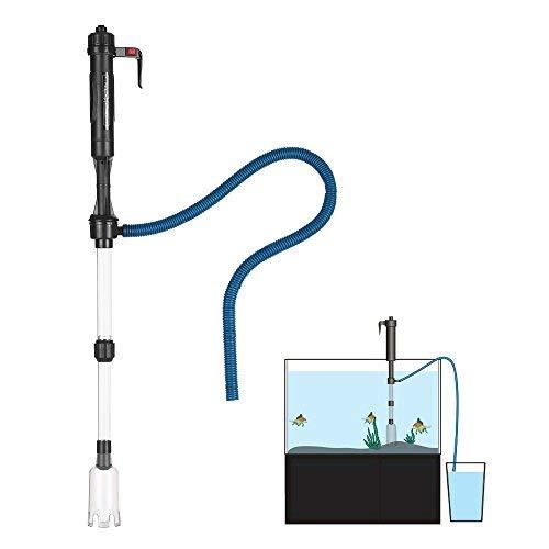 Festnight Elektrische Aquarium Wasser Wechsler Staubsauger Sand Waschmaschine Aquarienstaubsauger Vakuum Siphon Betrieben Kies Reiniger Aquarium Reinigungswerkzeug