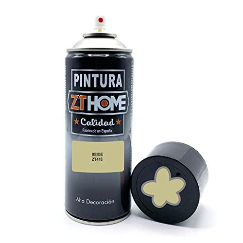 Pintura Spray Beige 400ml imprimacion para madera, metal, ceramica, plasticos / Pinta todo tipo de cosas y superficies Radiadores, bicicleta, coche, plasticos, microondas, graffiti