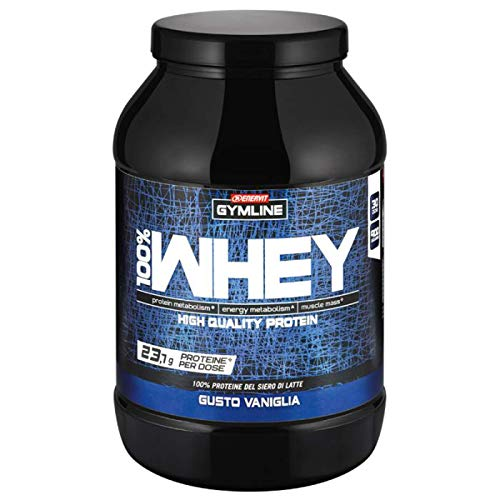 Gymline Muscle Gymline 100% Whey Concentrate Vaniglia - 900gr