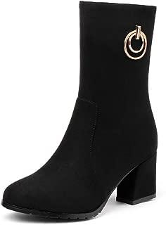 BalaMasa Womens ABS14195 Pu Boots