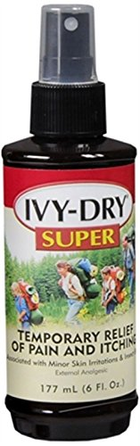 Ivy Dry Quickly Relieves Itching Spray 6 oz (Pack of 2)