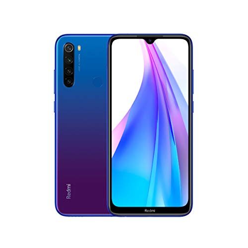 Xiaomi Redmi Note 8T 64 + 4GB Color Blue, NFC, [Spanish Version]