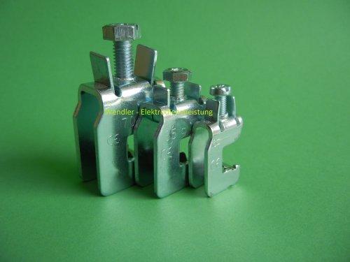 Sammelschienenklemme für CU-Schiene 16 mm² wählbar
