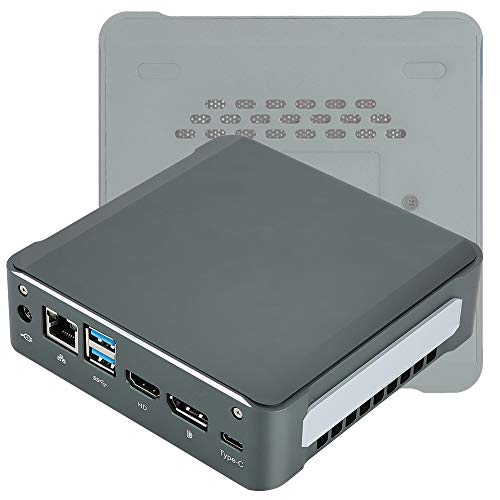 Leftwei Computadora, Mini computadora de Escritorio, tamaño Ultra pequeño Duradero para Viajar a casa(European regulations)