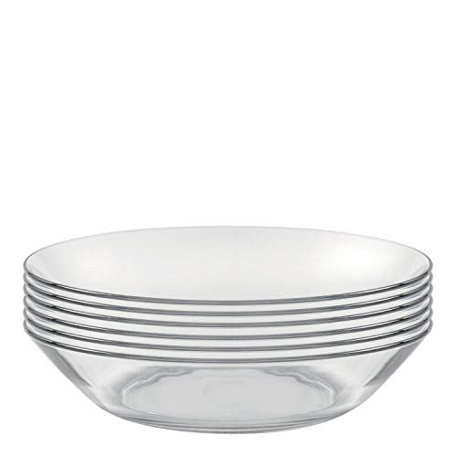 Duralex - Lys Calotte Plate 21 cm Set Of 6 by Duralex