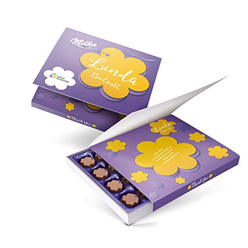 Say it with Milka giftbox bedrukken - Bedankt - 110 gram
