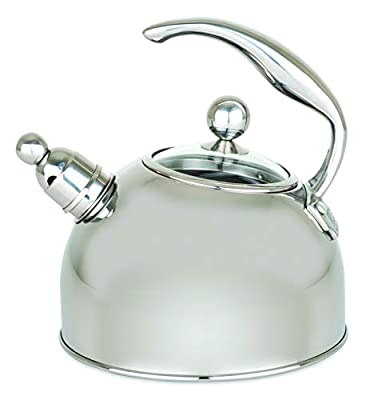 Viking Culinary 40018-9339 Viking Stainless Steel Tea Pot, 2.5 Liter