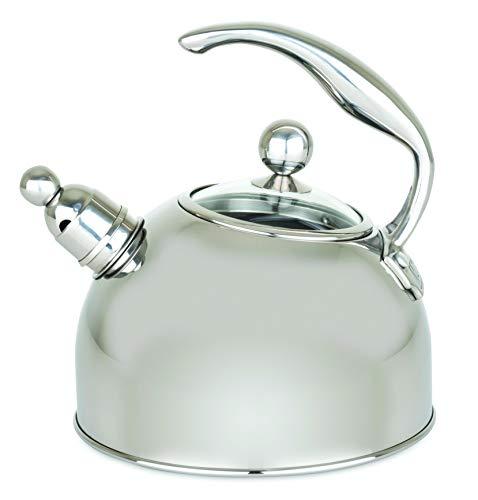 Viking Culinary 40018-9339 Viking Stainless Steel Tea Pot, 2.5 Liter