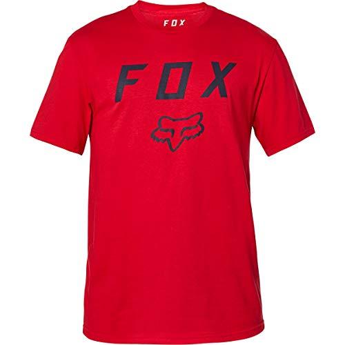 Fox Racing Herren Legacy Motten Shirts, Größe XXL, Chili, XXL (24578-555-2X)