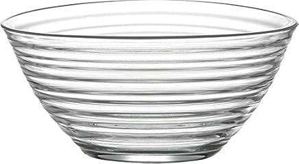 Preisvergleich für La-V LAV Derin Schüssel Salatschüssel aus Glas 22,3cm–2010CC