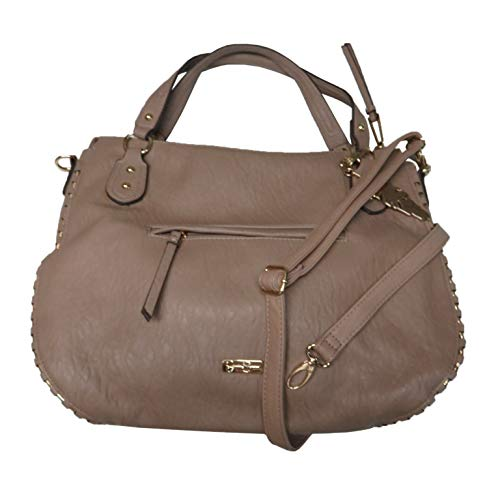 Jessica Simpson Women's Large Selena Tote, Large, Size 16'X12'X4', Natural