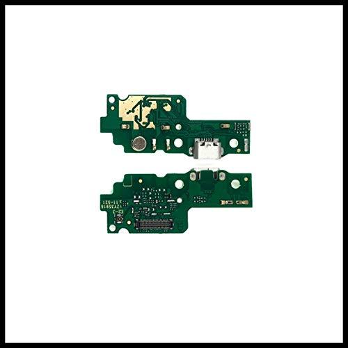 Flex Flat Dock USB Conector Carga pruebas circuito Cargador + Micrófono para Huawei Y6II \ Honor 5A