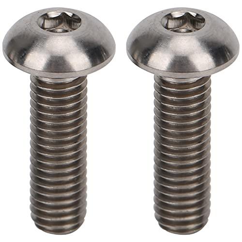 2 uds tornillo de palanca de bicicleta aleación de titanio tornillo de palanca de freno de bicicleta tornillo de manija de freno de bicicleta para piezas de tornillo de bicicleta plegable Brompton tip